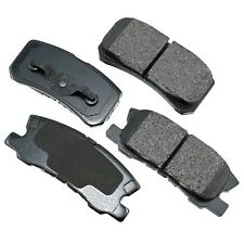 MITSUBISHI REAR BRAKE PADS SEMI METALLIC ENDEAVOR GRANDIS LANCER MONTERO RVR