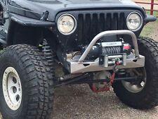 Jeep YJ/TJ Wrangler DIY stubby winch bumper