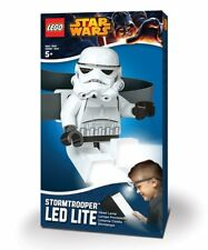 🎄 LEGO Star Wars STORMTROOPER LED LITE Light Head Lamp Flashlight Posable NEW!