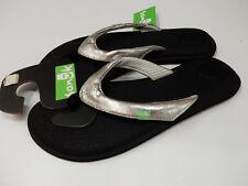 Sanuk Womens Yoga Chakra Metallic Silver Size 7
