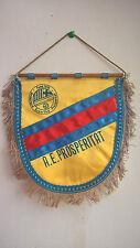 Vintage Fanion A.E Associacio Esportive Prosperitat 1976 Football  20 cm x 18 cm