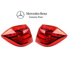 For Mercedes W166 GL350 GL450 GL550 Pair Set of 2 Outer Tail Lights Genuine BMW