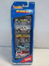 Hot Wheels 5 Car Gift Pack Off Road 4x4 w Jeep