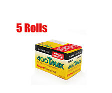 5 Rolls Kodak T-MAX Tmax 400 135-36 35 mm B&W Black&White Film Fresh 2021