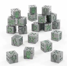 LAST ITEMS Warhammer 40,000: Necrons Dice Set