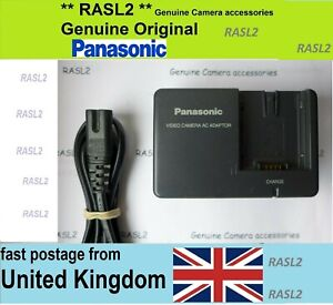 Genuine Panasonic battery Charger For HDC-SD9 SDR-H250 Video Camera Camcorder