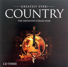 Compilation CD Greatest Ever - Country - Vol.3 - Europe (M/M)