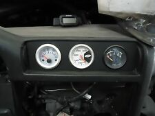 BMW E30 (1984-1991) Middle Vent Gauge Holder: Three 52mm Equally Spaced