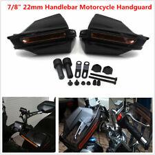 "Motorcycle Bikes 7/8"" Handlebar Windshield Anti-fall Protector Hand Guard Cover"