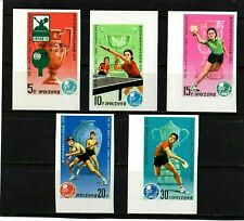 KOREA - 1979 - IMPERFORATED - WORLD TABLE TENNIS CHAMPIONSHIP - MINT NOT HINGED