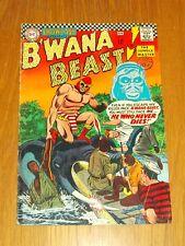 SHOWCASE PRESENTS B'WANA BEAST #67 VG (4.0) DC COMICS APRIL 1967