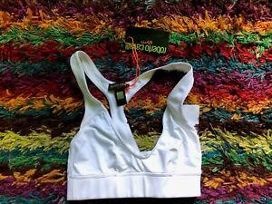Roberto Cavalli Gym Sports Bra, Size S, NWT