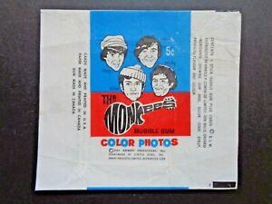 1967 DONRUSS *THE MONKEES SERIES A* WAX WRAPPER HTF