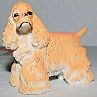 "FUNRISE SPRINGER SPANIEL BLONDE DOG HARD PLASTIC 1997 VINTAGE 4"" FIGURE FIGURINE"