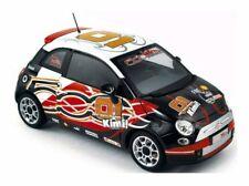 2008 Fiat 500 WROOOM version Kimi #01 Norev Racing 187733 1/18 Scale Diecast Car