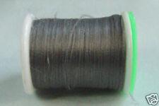 100m Fil PLAT montage GRIS 6/0 pour dubbing montage mouche fly tying thread grey