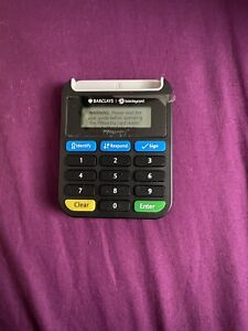Barclays Barclaycard Pinsentry Card Reader Machine  secure online banking Device