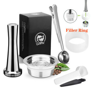 Refillable Stainless Steel Coffee Capsule Filter For LAVAZZA A MODO MIO Maker