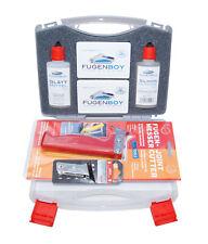 Profi-Koffer Fugenwerkzeuge Silikonentferner Glättmittel Fugenmesser/Klinge