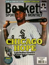 New September 2020 Beckett Sports Card Monthly Price Guide Magazine, Luis Robert