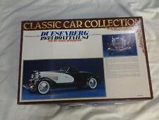 Bandai 1:16 Scale Vintage 1933 Duesenberg Boattail SJ Model Kit New & Very Rare