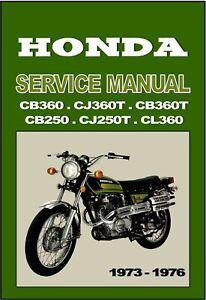 Las Mejores Ofertas En Literatura Honda Motocicleta Manuales Y 1976 Ano De Publicacion Reparacion Ebay