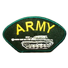 U.S. Army Tank Team Rank Military Uniform World War Clothes Jacket Iron on Patch