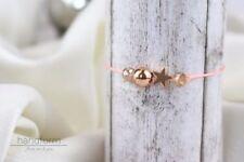 Modeschmuck-Armbänder aus Rosegold Perlen für Damen