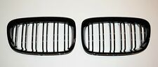 BMW F20 F21 1 Series Gloss Black Kidney Grill Grille  2010 to 2015 Twin Bar