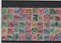Germany early used Reichspost Stamps with good cancels Ref 14246