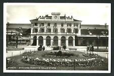 Novara : Stazione - non viaggiata indicativamente anni '40/'50