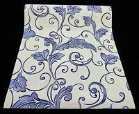 """Vinyltapete /""""New Orleans/"""" Blumen Dekor creme lila silber mit Glanz 30318-4-"""