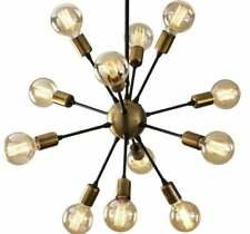 Antique Brass Chandelier Mid Century Modern Sputnik Chandelier 12