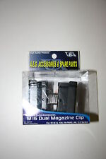 AIRSOFT DUAL CLIP CHARGEUR MAGAZINE CLASSIC ARMY A067M  M16 XM FAMAS AK G3 NEW