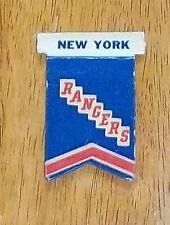 Eagle 1950's New York Rangers Pennant   player table top hockey 2