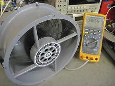 """Condor IMC Magnetics 10"""" Fan 230VAC model no. 20 Tested Good"""