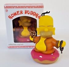 """The Simpsons Homer Buddha Color Version 3"""" Vinyl Figure by Kidrobot New in Box"""