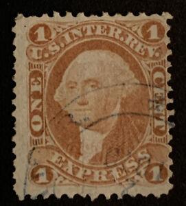 G1/56 US Stamps Revenue BOB 1862 R1c 1c UVLH Very Fresh Clean