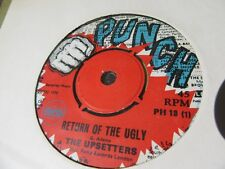 """THE UPSETTERS """"Return Of The Ugly"""" 7"""" Single - Punch Records PH18"""