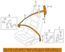 VOLVO OEM 07-12 S80 Front Seat-Belt & Buckle Retractor Left 39811476