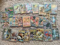 Pokemon Card Lot 10 OFFICIAL TCG Cards Ultra Rare Included - GX EX MEGA V HOLOS