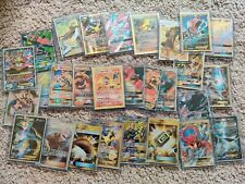 Pokemon Card Lot 10 OFFICIAL TCG Cards Ultra Rare Included - GX EX MEGA V HOLOS@
