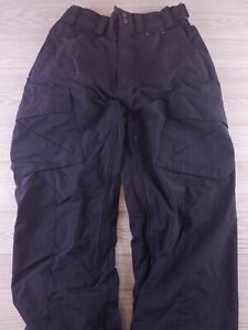 Obermeyer Mens Black Ski Snow Pants small snowboarding winter mesh lined U154
