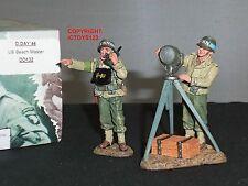 King and country DD132 Us Navy Playa Master Metal Conjunto figura soldado de juguete