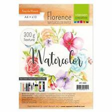 Vaessen Creative Florence Carta per Acquerello A4, Avorio, 300 g/mq, A4