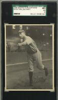 1929 R316 Kashin Publications TOM ZACHARY New York Yankees SGC 3 VG