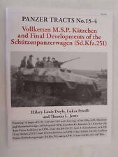 Book: Panzer Tracts No.15-4 -Final Developments of the Schützenpanzer Sd.Kfz.251