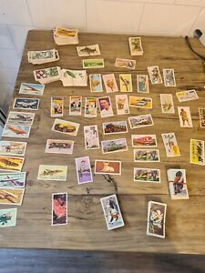 Job Lot Of Vintage Sweet Tea And Cigarette Cards rare popeye including