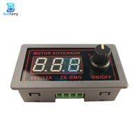 DC 9-60V PWM Motor Speed Governor Controller Switch BMG Digital Display 12A 500W
