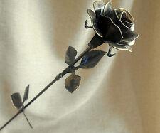 Flower Rose Golden Color Decoration Floral Metal Roses Steel